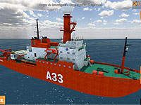 Hesperides Research Vessel