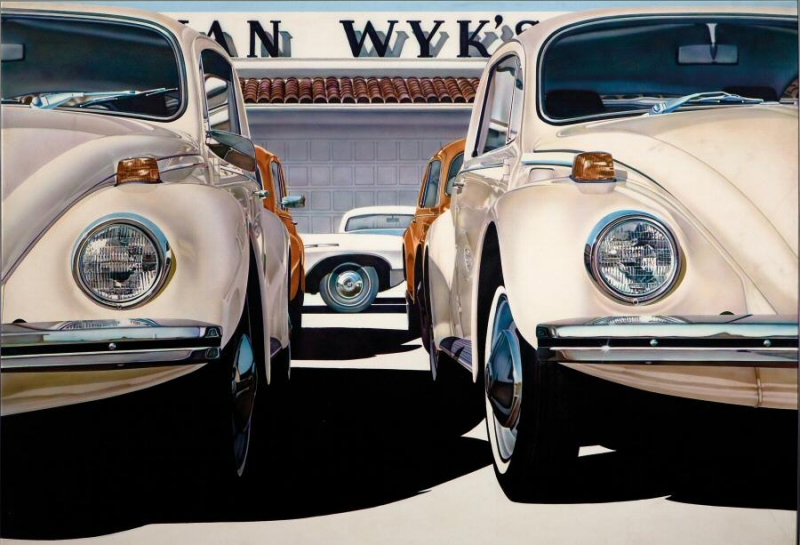 Visit the exhibition of Don Eddy, the greatest exponent of American hyperrealism